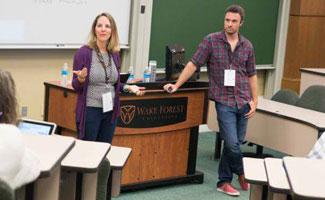 Michelle and Alex Schenker Speak on Virtual Teams at ConvergeSouth 2014
