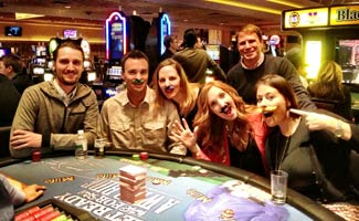 CSM Team at NMX Vegas 2013 Playing Blackjack