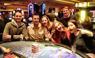 CSM Team at NMX Vegas 2013 Playing Blackjack